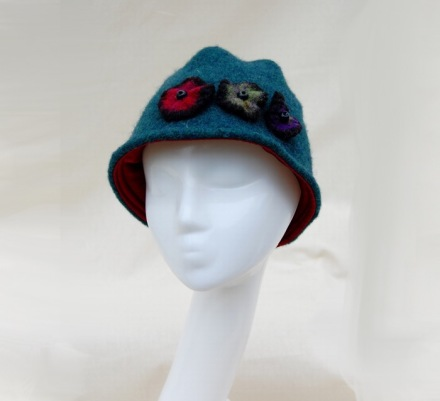 Turquoise Cloche